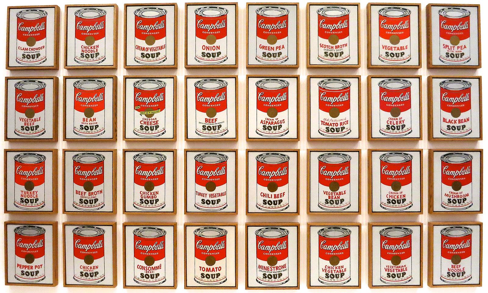 Andy Warhol; overleden 1 jaar voordat ik ben geboren, maar dankzij zijn biografie en werk inspirator!