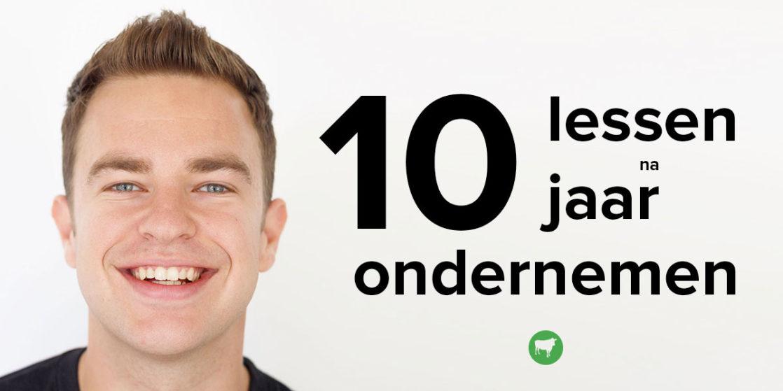 Beroemd 10 jaar ondernemen, deze 10 dingen heb ik geleerd! - Bas van der Lans @UP23