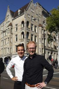 Samen met compagnon Robert van Eekhout voor Van Ons HQ