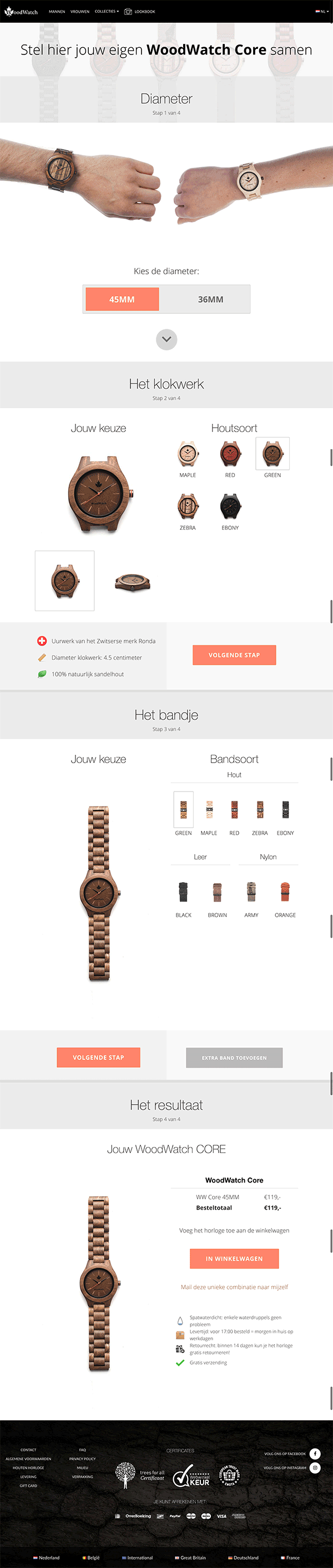 WoodWatch WooCommerce Configurator