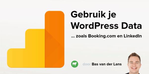 Bas van der Lans over WordPress en Data